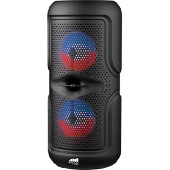 Picture of Naxa NDS-4502 Portable Bluetooth Speaker System - Black