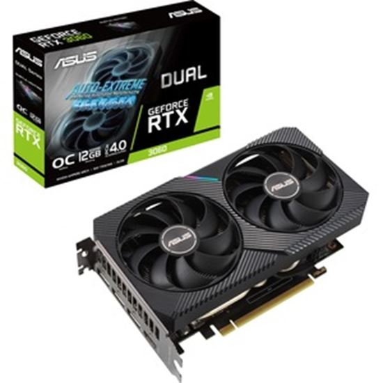 Picture of Asus NVIDIA GeForce RTX 3060 Graphic Card - 12 GB GDDR6