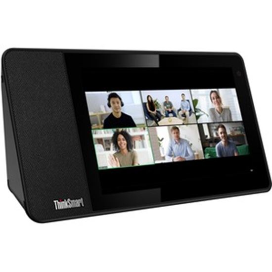 """Picture of Lenovo ThinkSmart View ZA840013US Tablet - 8"""" HD - 2 GB RAM - 8 GB Storage - Android 8.1 Oreo - Business Black"""