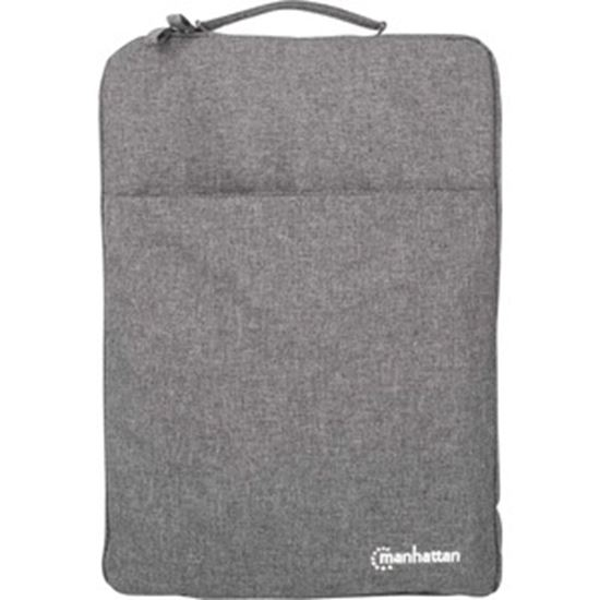 """Picture of Manhattan Seattle Carrying Case (Sleeve) for 15.6"""" Apple Ultrabook, Notebook, MacBook - Gray"""