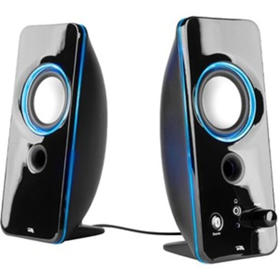 Picture of Cyber Acoustics CurveLight CA-SP29BT 2.0 Bluetooth Speaker System