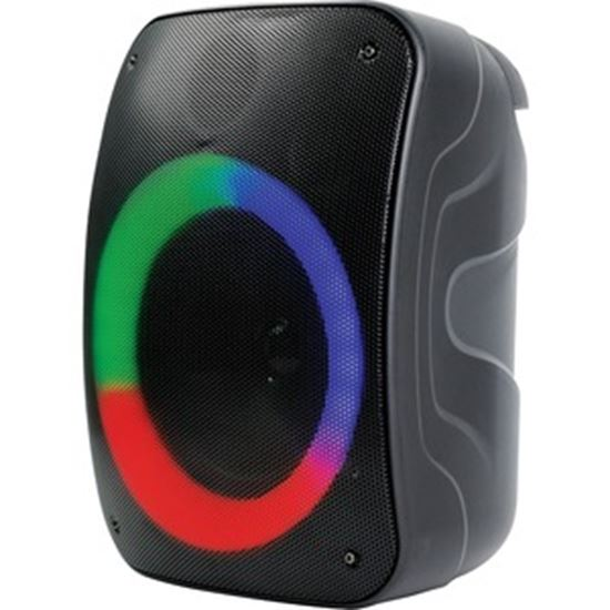 Picture of Naxa NDS-4003 Portable Bluetooth Speaker System - Black
