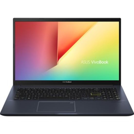 "Picture of Asus VivoBook S513 S513UA-DS74 15.6"" Notebook - Full HD - 1920 x 1080 - AMD Ryzen 7 5700U Octa-core (8 Core) 1.80 GHz - 8 GB RAM - 1 TB SSD - Indie Black"