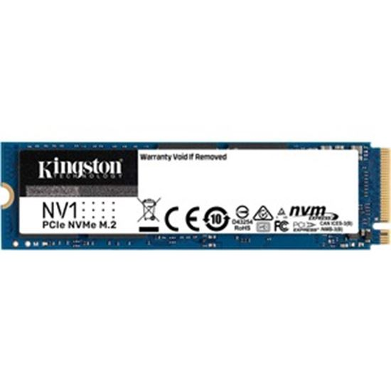 Picture of Kingston NV1 500 GB Solid State Drive - M.2 2280 Internal - PCI Express NVMe (PCI Express NVMe 3.0 x4)