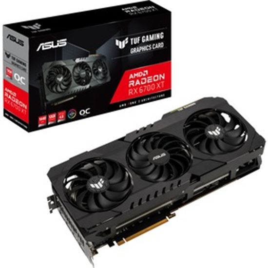 Picture of TUF AMD Radeon RX 6700 XT Graphic Card - 12 GB GDDR6