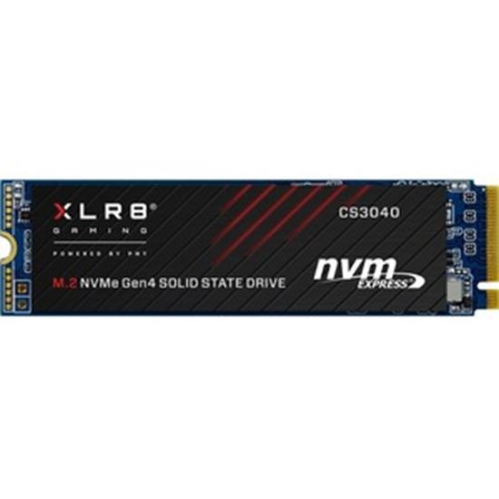 Picture of PNY XLR8 CS3040 500 GB Solid State Drive - M.2 2280 Internal - PCI Express NVMe (PCI Express NVMe 4.0 x4)