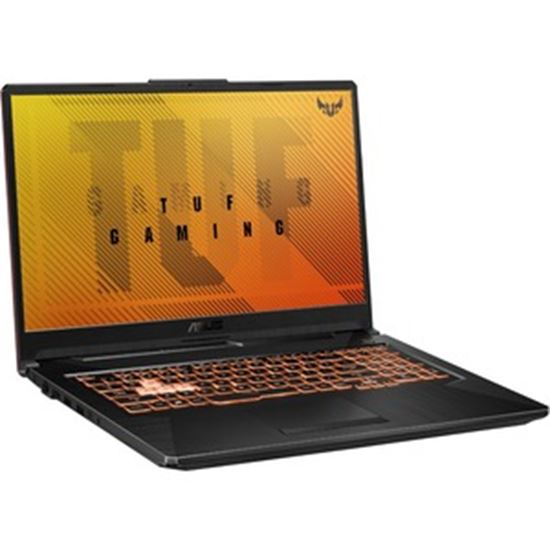 "Picture of TUF Gaming F17 FX706 FX706LI-RS53 17.3"" Rugged Gaming Notebook - Full HD - 1920 x 1080 - Intel Core i5 (10th Gen) i5-10300H Quad-core (4 Core) 2.50 GHz - 8 GB RAM - 512 GB SSD - Bonfire Black"