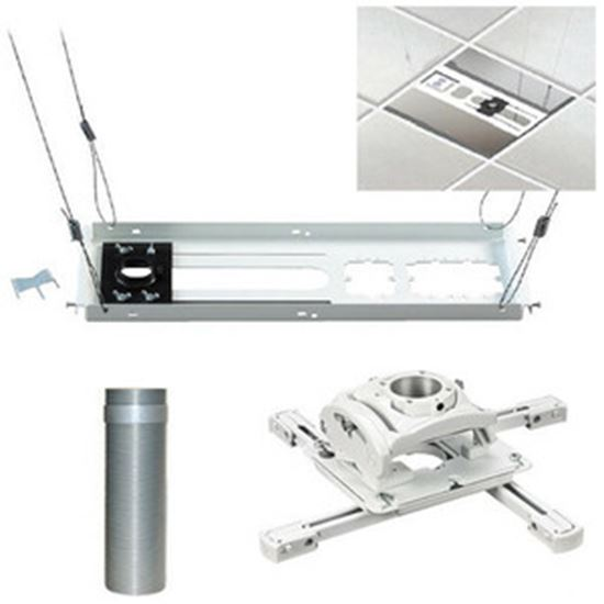 Picture of Chief KITEZ006W Ceiling Mount for Projector - White