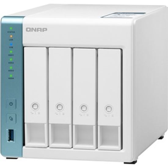 Picture of QNAP Quad-core 1.7GHz NAS with 2.5GbE and Feature-rich Applications for Home & Office