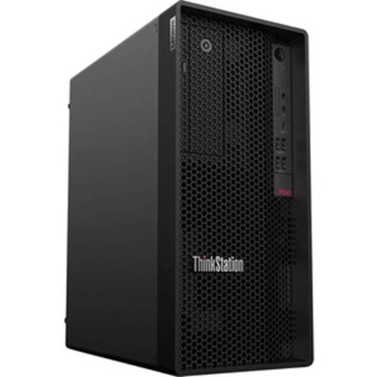 Picture of Lenovo ThinkStation P340 30DH00K4US Workstation - 1 x Intel Deca-core (10 Core) i9-10900K 3.70 GHz - 32 GB DDR4 SDRAM RAM - 1 TB SSD - Tower - Raven Black