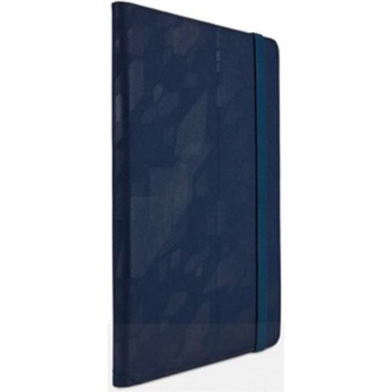 """Picture of Case Logic SureFit Carrying Case (Folio) for 1"""" to 10"""" Tablet - Dress Blue"""