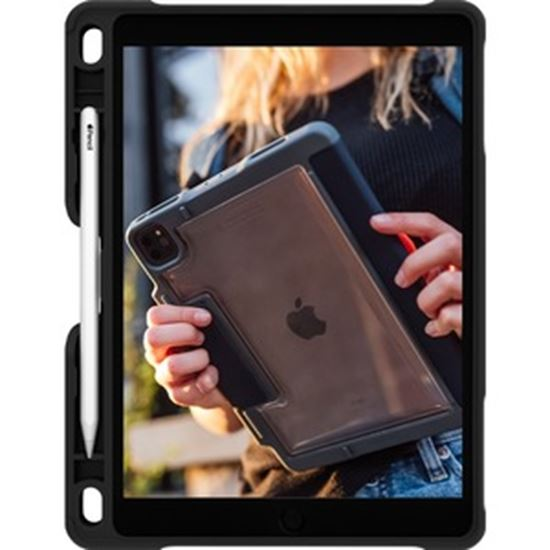 Picture of STM Goods Dux Grip Carrying Case Apple iPad (7th Generation), iPad (8th Generation) Tablet - Black
