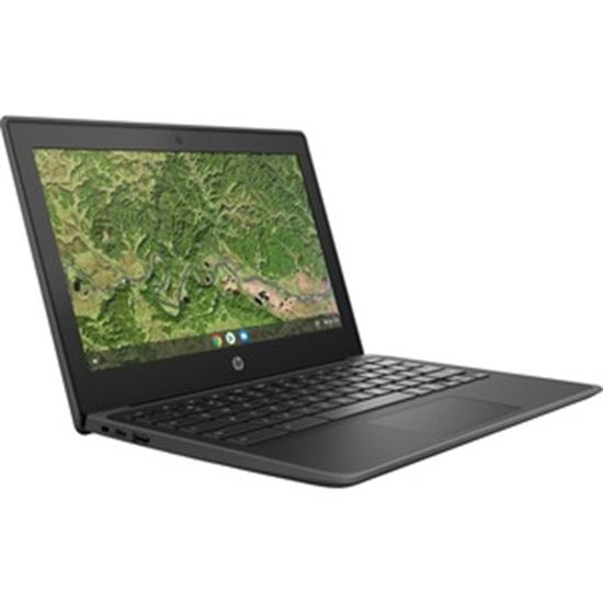 "Picture of HP Chromebook 11A G8 EE 11.6"" Rugged Chromebook - HD - 1366 x 768 - AMD A-Series A4-9120C Dual-core (2 Core) 1.60 GHz - 4 GB RAM - 32 GB Flash Memory - Chalkboard Gray"
