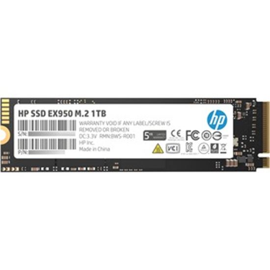 Picture of HP EX950 1 TB Solid State Drive - M.2 2280 Internal - PCI Express NVMe (PCI Express NVMe 3.0 x4)