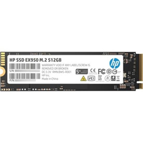 Picture of HP EX950 512 GB Solid State Drive - M.2 2280 Internal - PCI Express NVMe (PCI Express NVMe 3.0 x4)