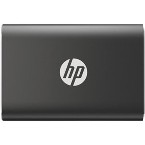 Picture of HP P500 500 GB Portable Solid State Drive - External - Black