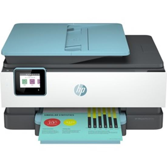 Picture of HP Officejet Pro 8035e Inkjet Multifunction Printer - Color - Oasis