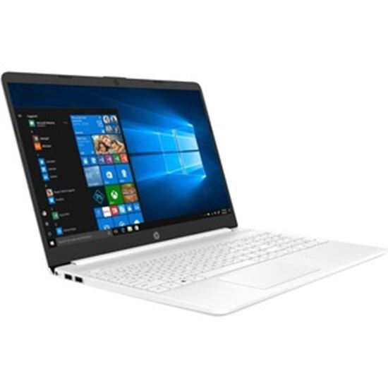 """Picture of HP 15-dy2000 15-dy2041nr 15.6"""" Notebook - HD - 1366 x 768 - Intel Core i3 (11th Gen) i3-1115G4 Dual-core (2 Core) - 4 GB RAM - 256 GB SSD - Snow White, Sandblasted Anodized"""