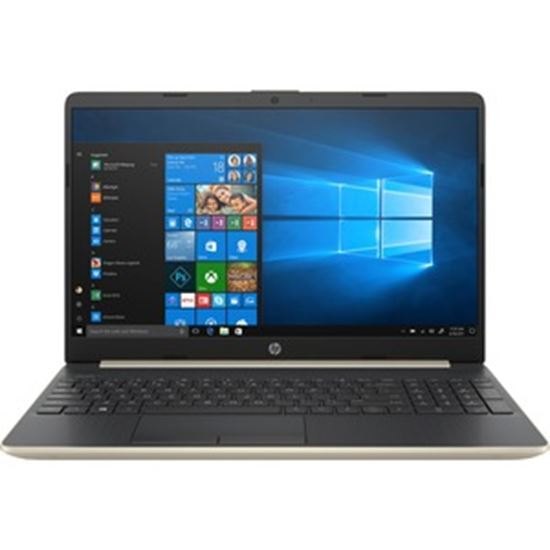 """Picture of HP 15-dw0000 15-dw0052wm 15.6"""" Notebook - HD - 1366 x 768 - Intel Core i5 (8th Gen) i5-8265U Quad-core (4 Core) 1.60 GHz - 8 GB RAM - 512 GB SSD - Pale Gold"""