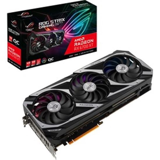 Picture of Asus ROG AMD Radeon RX 6700 XT Graphic Card - 12 GB GDDR6