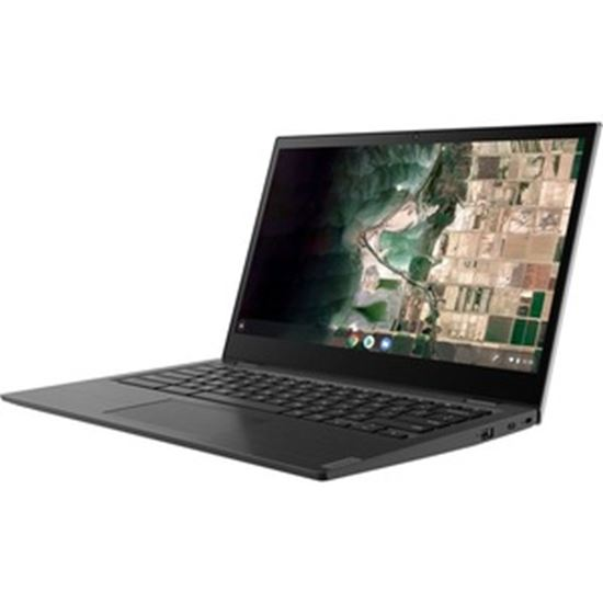 """Picture of Lenovo 14e Chromebook 81MH005LUS 14"""" Touchscreen Rugged Chromebook - Full HD - 1920 x 1080 - AMD A-Series (7th Gen) A4-9120C Dual-core (2 Core) 1.60 GHz - 8 GB RAM - 64 GB Flash Memory - Mineral Gray"""