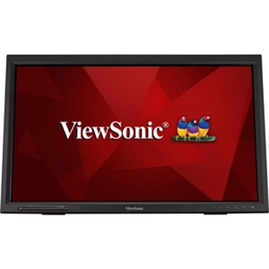 """Picture of Viewsonic TD2423d 24"""" LCD Touchscreen Monitor - 16:9 - 7 ms GTG"""