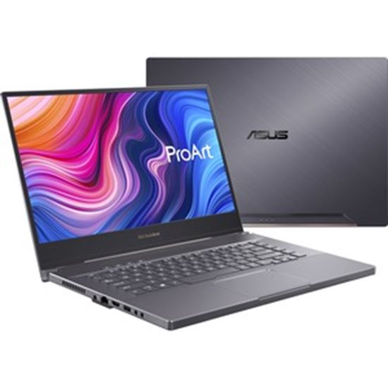 """Picture of Asus ProArt StudioBook 15 H500 H500GV-XS76 15.6"""" Mobile Workstation - 4K UHD - 3860 x 2160 - Intel Core i7 (9th Gen) i7-9750H 2.60 GHz - 32 GB RAM - 1 TB SSD - Star Gray"""