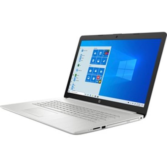 """Picture of HP 17-by3000 17-by3652cl 17.3"""" Notebook - HD+ - 1600 x 900 - Intel Core i5 (10th Gen) i5-1035G1 Quad-core (4 Core) 1 GHz - 8 GB RAM - 256 GB SSD - Natural Silver"""