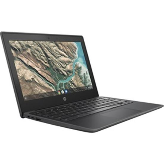 """Picture of HP Chromebook 11 G8 EE 11.6"""" Touchscreen Rugged Chromebook - HD - 1366 x 768 - Intel Celeron N4020 Dual-core (2 Core) 1.10 GHz - 32 GB Flash Memory"""
