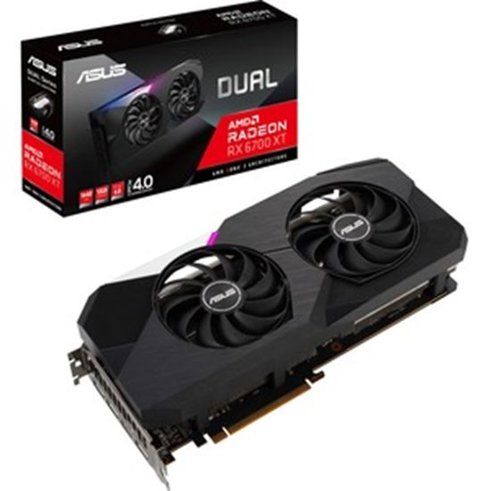 Picture of Asus AMD Radeon RX 6700 XT Graphic Card - 12 GB GDDR6
