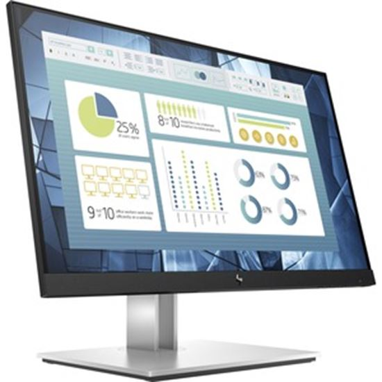 """Picture of HP E22 G4 21.5"""" Full HD LED LCD Monitor - 16:9 - Black, Silver"""