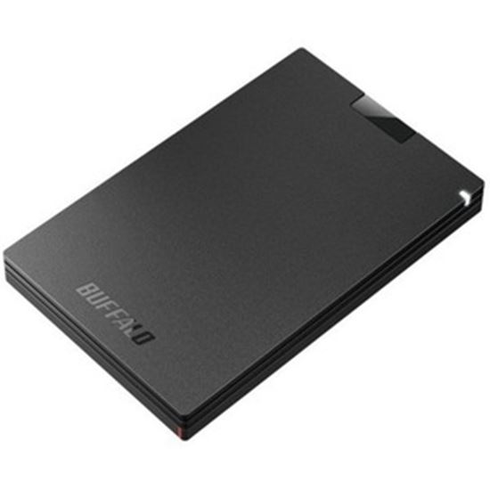 Picture of Buffalo 500 GB Portable Rugged Solid State Drive - External - TAA Compliant