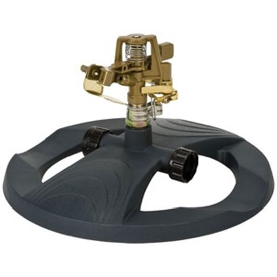 Picture of Melnor Metal Pulsating Sprinkler With Weighted Base