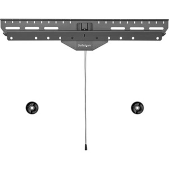 """Picture of StarTech.com No-Stud TV Wall Mount, Low Profile Heavy Duty VESA Wall Mount for up to 80"""" Display (110lb/50kg), Tilting Television Mount"""