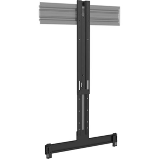 Picture of Chief Fusion FCA842 Mounting Bracket for Flat Panel Display, Speaker, Wall Mount, Ceiling Mount, Display Cart, Display Stand, Video Conference Equipment, Sound Bar Speaker, Camera - Black