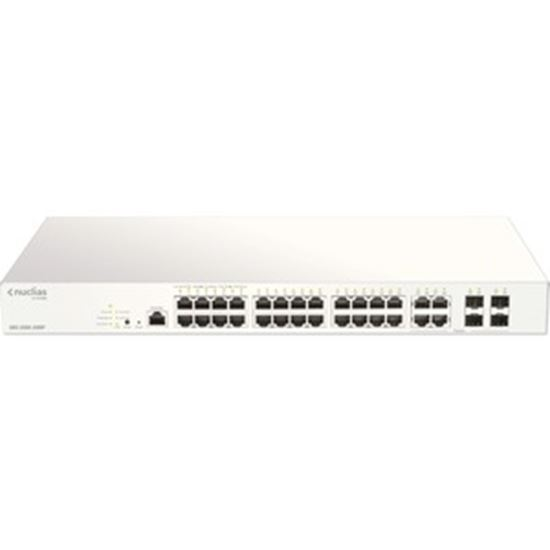 Picture of D-Link 28-Port Nuclias Cloud-Managed PoE Switch