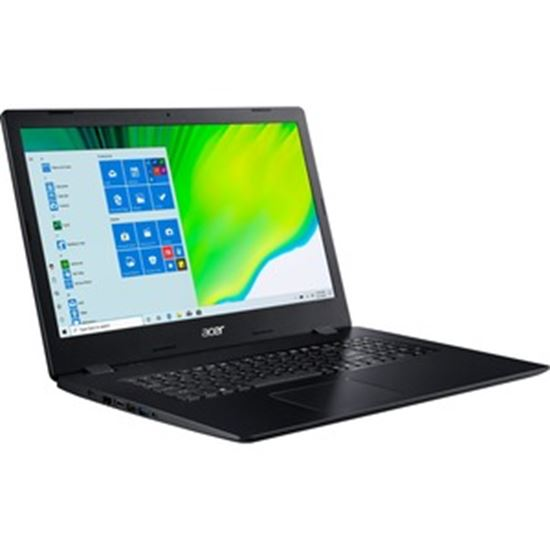 """Picture of Acer Aspire 3 A317-52 A317-52-310A 17.3"""" Notebook - HD+ - 1600 x 900 - Intel Core i3 10th Gen i3-1005G1 Dual-core (2 Core) 1.20 GHz - 8 GB RAM - 1 TB HDD - Shale Black"""