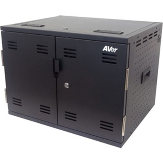 Picture of AVer AVerCharge X16 16 Device B.Y.O.C. (Build Your Own Cart) Charging Solution
