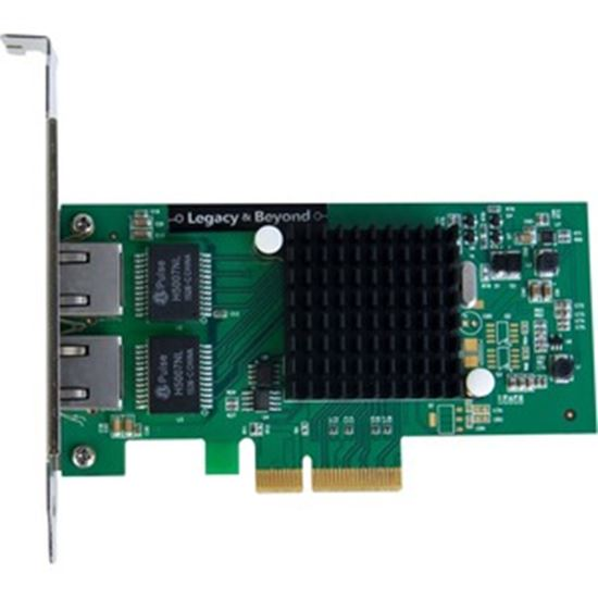 Picture of SIIG Dual-Port Gigabit Ethernet PCIe 4-Lane Card - I350-T2