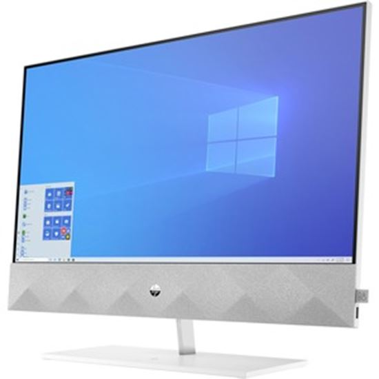 """Picture of HP Pavilion 27-d0000 27-d0080 All-in-One Computer - Intel Core i7 10th Gen i7-10700T Octa-core (8 Core) 2 GHz - 16 GB RAM DDR4 SDRAM - 1 TB M.2 PCI Express NVMe 3.0 SSD - 27"""" Full HD 1920 x 1080 Touchscreen Display - Desktop - Refurbished"""