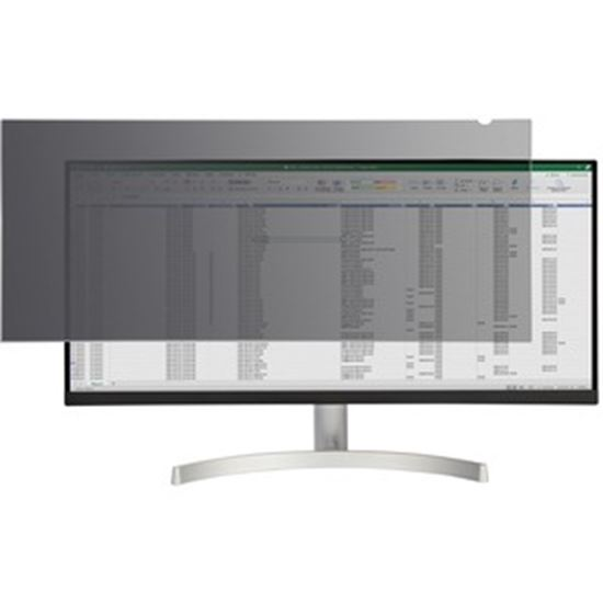 Picture of StarTech.com Monitor Privacy Screen for 34 inch Ultrawide Display, 21:9 Widescreen Computer Screen Security Filter, Blue Light Reducing