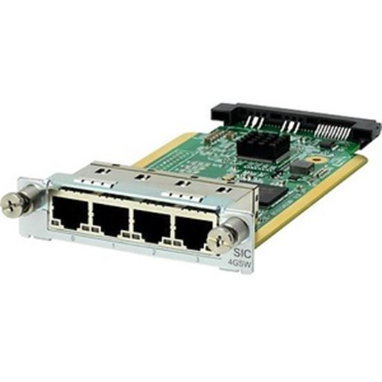 Picture of HPE MSR 4-Port Gig-T Switch SIC Module