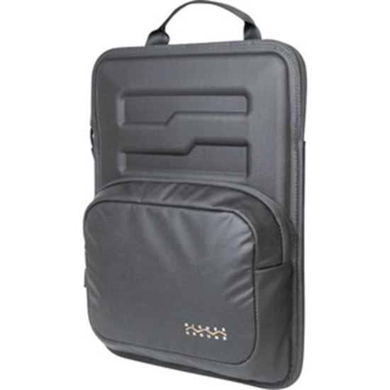 """Picture of Higher Ground Capsule Plus CS CAPPL011GRYCS Carrying Case Rugged (Sleeve) for 11"""" Notebook, Chromebook - Gray - TAA Compliant"""