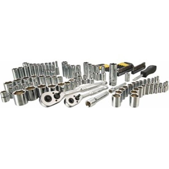 Picture of Stanley 123 pc 1/4 in & 3/8 in Drive Mechanic's Tool Set