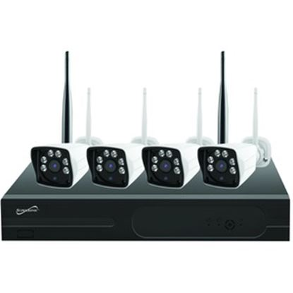 Picture of Supersonic Wireless Security Camera System with 4x FHD Indoor/Outdoor Cameras