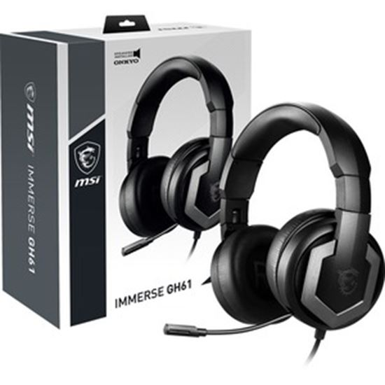 Picture of MSI Immerse GH61 Gaming Headset audio by ONKYO