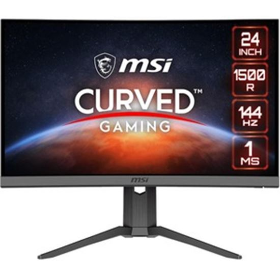 """Picture of MSI Optix G24C6P 23.8"""" Full HD Curved Screen LED Gaming LCD Monitor - 16:9"""