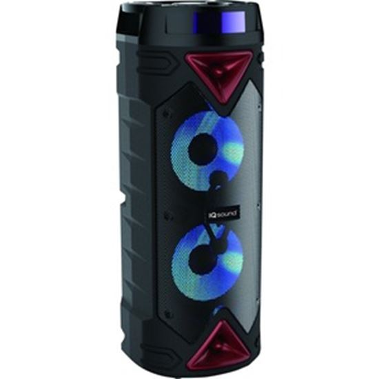 Picture of IQ Sound IQ-6265DJBT Portable Bluetooth Speaker System - 20 W RMS - Red