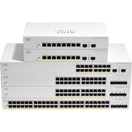 Picture of Cisco Business CBS220-24P-4X Ethernet Switch