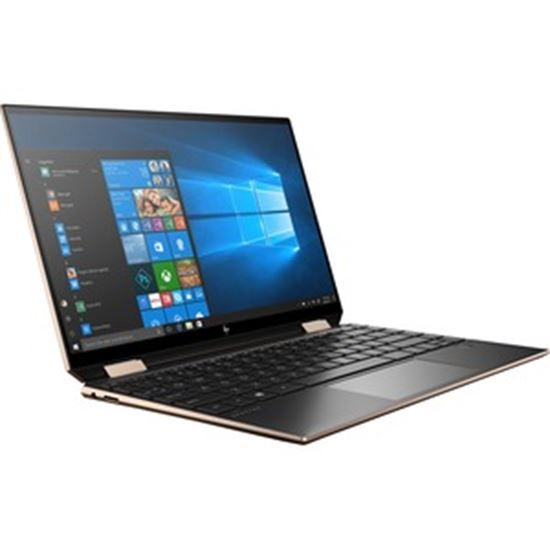"""Picture of HP Spectre x360 13-aw2000 13-aw2003dx 13.3"""" Touchscreen 2 in 1 Notebook - 4K UHD - 3840 x 2160 - Intel Core i5 11th Gen i5-1135G7 Quad-core (4 Core) - 8 GB RAM - 512 GB SSD - Nightfall Black - Refurbished"""